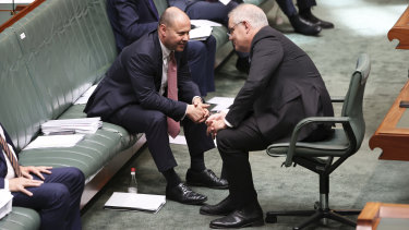 The budget should not be a squandered opportunity ... Treasurer Josh Frydenberg and Prime Minister Scott Morrison.