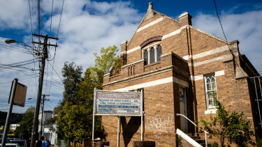The disused church on Illawarra Road in Marrickville could be turned into a block of affordable housing units.