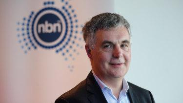 NBN chief Stephen Rue.