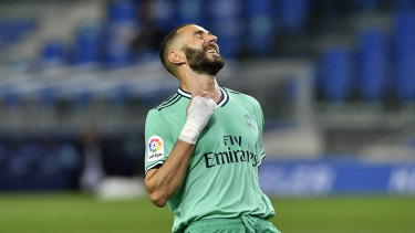 Star striker Karim Benzema again got his name on the scoresheet for Real Madrid.