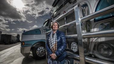 Noelene Watson, managing director of Don Watson Transport.