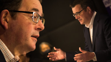Premier Daniel Andrews faces pressure from all angles.