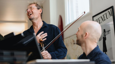 Friends and collaborators Richard Tognetti and Erin Helyard want to recreate an authentic baroque concert experience.