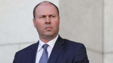 Treasurer Josh Frydenberg revealed the largest three month decline in economic activity on record.