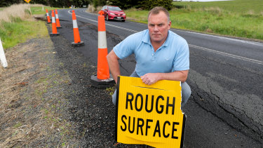 Corangamite Shire councillor Simon Illingworth is concerned about the Great Ocean Road and other loop roads near the popular tourist attraction.