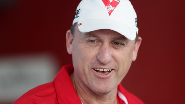 Swans coach John Longmire admits live AFL content in Sydney is crucial to the game's growth.