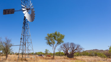 Kimberley region in WA.