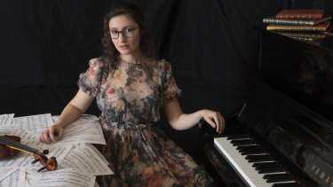 Elizabeth Younan is the first Australian woman to be selected for the most selective music program in the US.