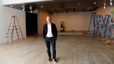 Art Gallery of NSW director Michael Brand is looking forward to reopening.