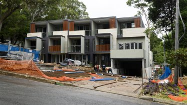 A prohibition order has been issued to the developer of 12 Beaconsfield Parade in Lindfield.