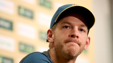Tim Paine says there is no issue with his injured finger and he will play the next Test in Perth.