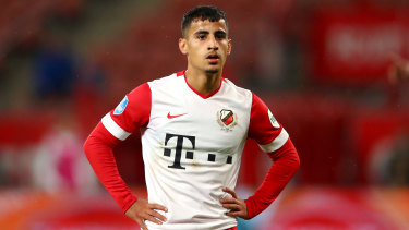 Daniel Arzani looks headed for the exit at FC Utrecht after copping a stinging assessment from his coach.