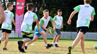 The NRL hopes it can nurture the next generation of talent with League Stars.
