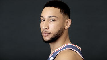 Australian NBA star Ben Simmons says he won't stop calling out racism.