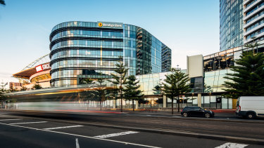 Bendigo Bank's headquarters is owned by Wharf Street Family Investments.