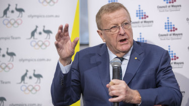 """John Coates says the IOC must decide between the """"must-haves"""" and the """"nice-to-haves""""."""
