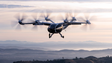 Joby Aviation has developed air taxis in the United States.