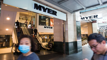 Myer has seen a huge jump in the sale of toys, board games and puzzles.