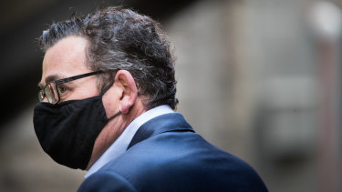 Daniel Andrews has been criticised for failing to consult more widely on Victoria's pandemic response.