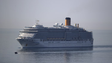 Australians are stuck on the trans-Atlantic cruise ship Costa Luminosa.