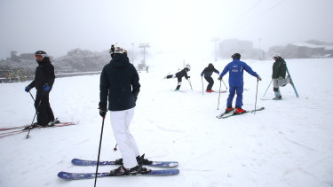 The reopening of the Mount Buller resort in June.