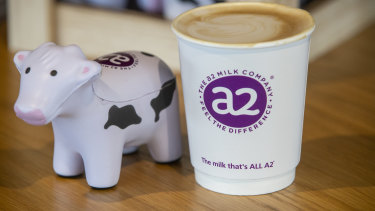 A2 Milk on Monday warned first-half sales will be hit after a collapse in daigou sales in Australia.