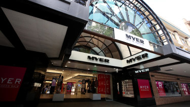 Myer has delayed its store re-openings until May 11.