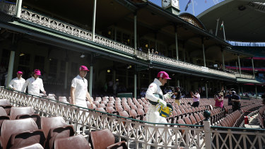 Sydney's New Year Test is at risk of being moved from its traditional time slot due to COVID-19 restrictions.
