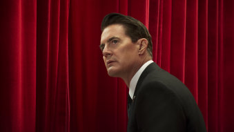 Kyle MacLachlan in Twin Peaks reboot, now streaming on Stan.