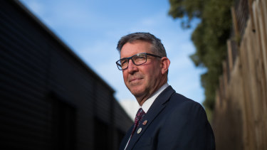 """You've got to do what's best for your school community"": Penola Catholic College principal Chris Caldow."