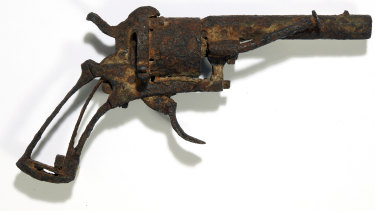 The revolver it's believed was used by Dutch painter Vincent van Gogh to take his own life.