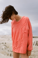 Wolfgang Scout's 'wandering cable' jumper, $1450.