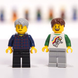 Ben and Ryan in minifigure form.