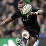 Playmaker: Cruden played 50 Tests for the All Blacks before leaving for France.