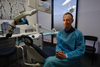 Endodontist Dr Geoffrey Young.