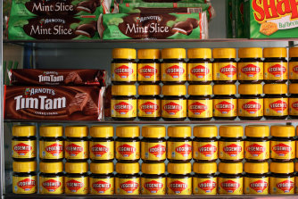 Brits are keen for more Australian fare on their shelves.