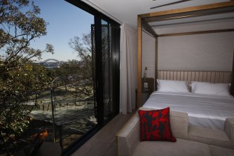 Room with a view and a zoo:  the view from Taronga Zoo's new Wildlife Retreat,