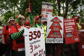 One of Labor's problems is its reliance on unions which are rapidly losing supporters.