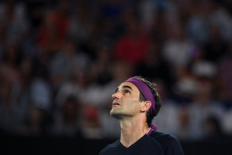 Tony Roche says Roger Federer would now be looking towards Wimbledon after going so close there last year and would not count out a return to the Australian Open next year.