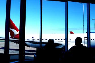Qantas cut flights on Tuesday.