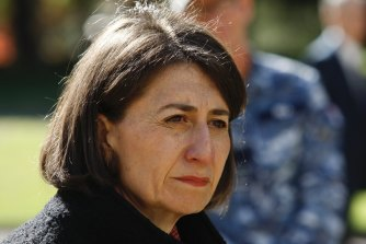 Premier Gladys Berejiklian has previously said complex legal issues meant the process was taking longer than anticipated.