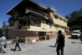 Thirteen children died in the fire at the Orphanage of the Church of Bible Understanding.