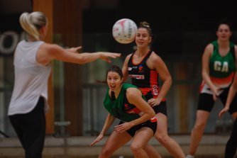 On Wednesday, the Giants practised the Super Shot despite a number of unknowns around the rule.