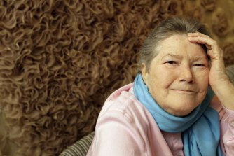 Charmed: The late novelist Colleen McCullough.