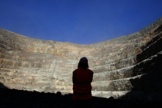 The Cadia mine is the largest gold mine in Australia.