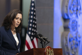 US Vice-President Kamala Harris had a difficult job in Guatemala City - telling people not to come to the United States.