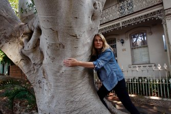 Libby Gallagher advocates for large mature trees within our urban environments.