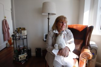 Heather Clark at home in Potts Point.