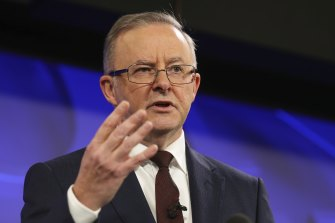 Anthony Albanese says a Labor government will deliver the same legislated tax relief to more than 9 million Australians as the Coalition.
