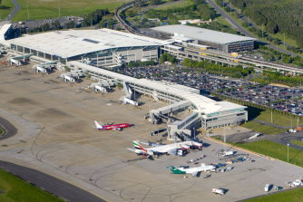 A number of locations at Brisbane's international airport have been listed as exposure sites.
